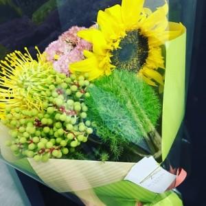 タクラさんお花